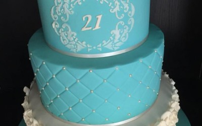 18th and 21st birthday cakes