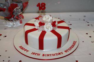 18th & 21st Birthday Cakes