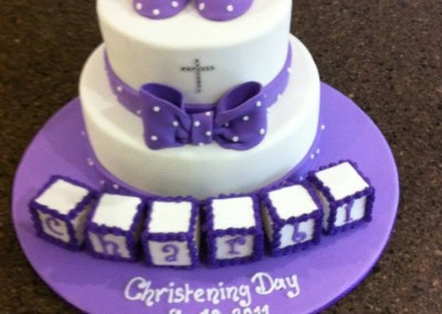 Christening Cakes by Vanessa